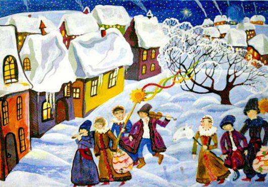 Щедрый вечер, Второй сочельник, Новый год