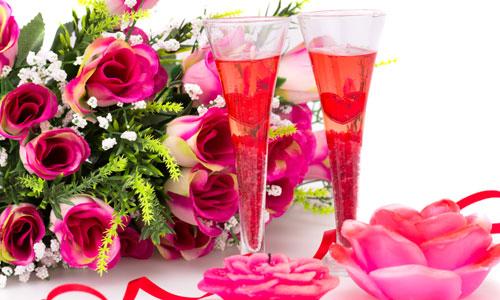 вечер в день святого Валентина