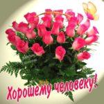 Открытки розы хорошему человеку